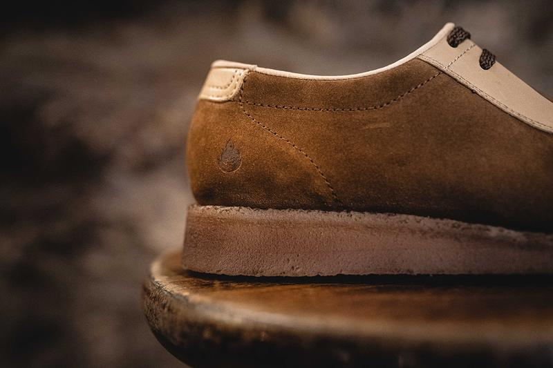 Hanon x Padmore & Barnes P500 Plain Toe Collaboration Release Footwear Silhouette Old School Vintage Traditional Wallabee Lookbooks Kilkenny, Ireland Hand Made Limited Edition