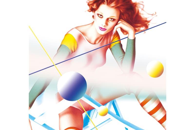 "Harumi Yagamuchi & YOSHIROTTEN NANZUKA NANZUKA Gallery ""2G"" Studio ""HARUMI'S WINTER"" Paintings Airbrush Women Illustrations PARCO Advertisement"