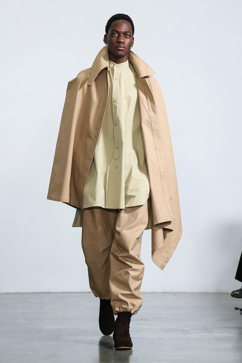 Hed Mayner Fall Winter 2020 Runway Collection presentation paris fashion week menswear fw20 pfw lvmh Prix Karl Lagerfeld