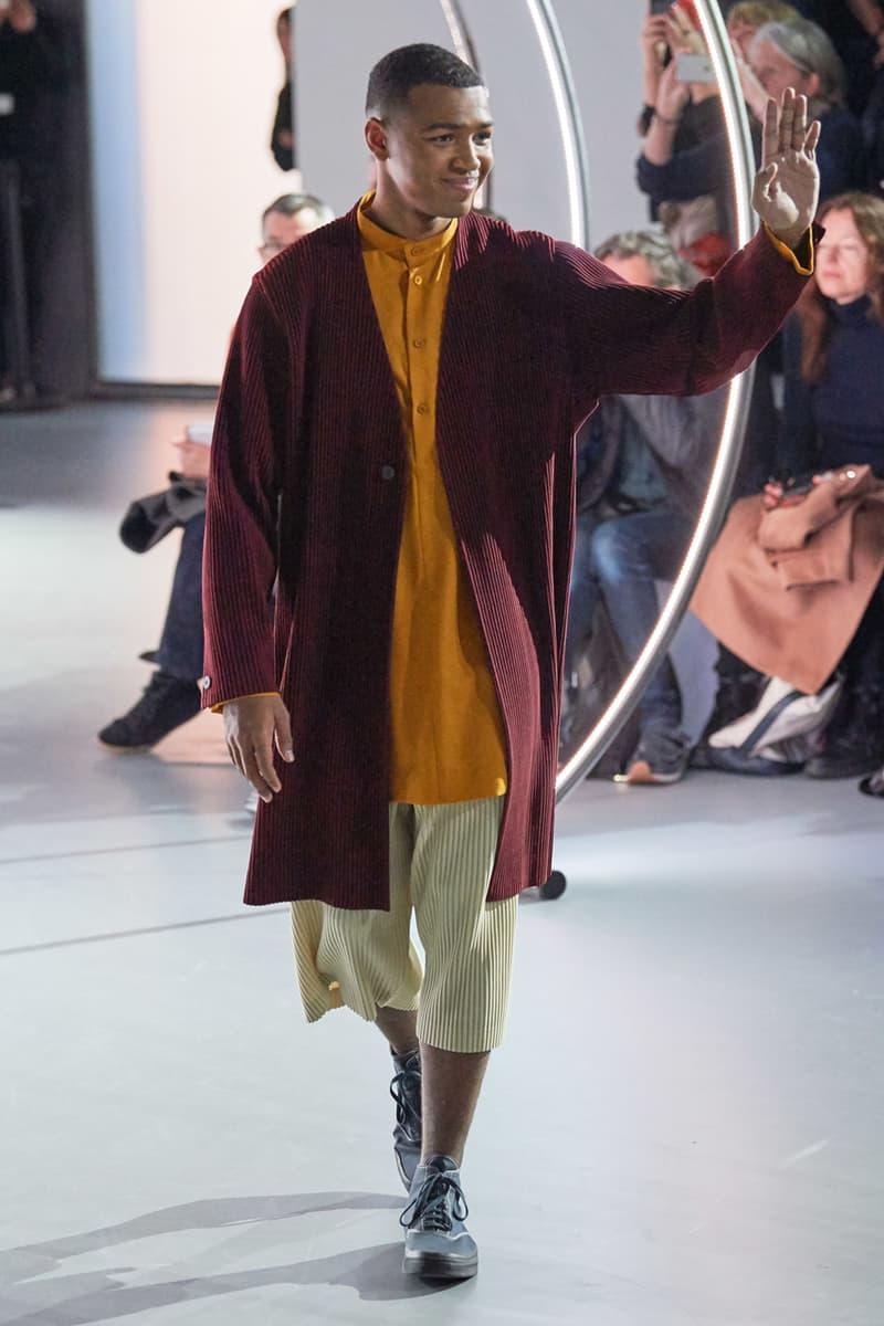 HOMME PLISSÉ Issey Miyake Fall/Winter 2020 Collection Runway menswear fw20 paris fashion week homme plisse