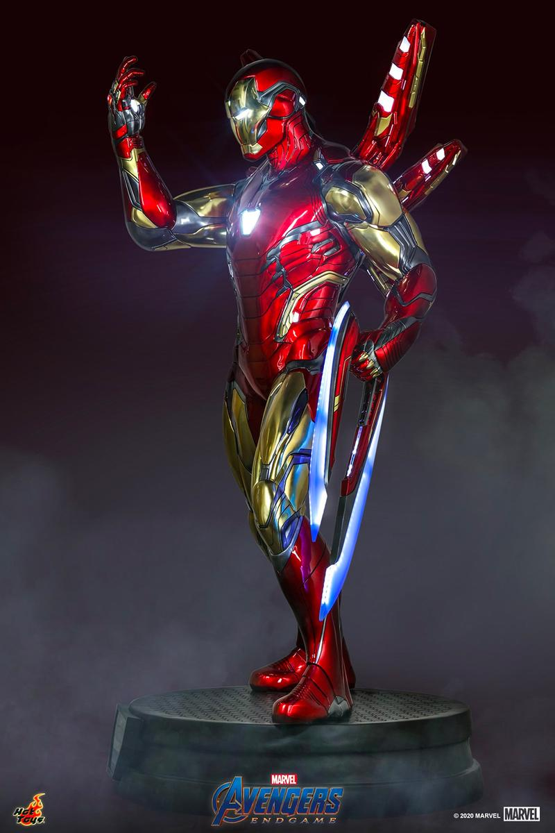 Hot Toys Avengers Endgame Iron Man Mark LXXXC Life Size Collectible 1:1 release Info date Buy