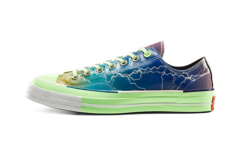 "Pigalle x Converse Chuck 70 Ox ""Lightning Storm"" Sneaker Release Where to buy Price 2020"