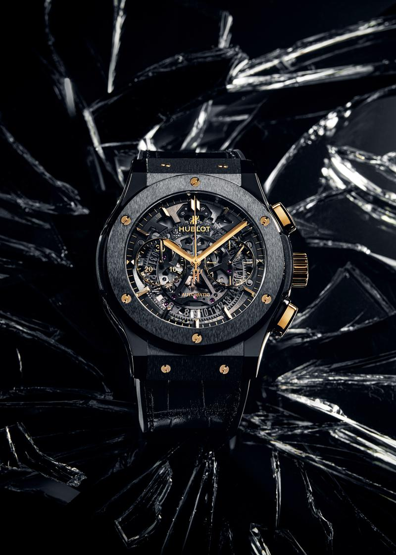 Hublot South East Asia Special Edition Watches Big Bang references (44 mm, 41 mm and 38 mm), the Classic Fusion 45 mm Aerofusion Chronograph Ceramic and the Spirit of Big Bang 42 mm