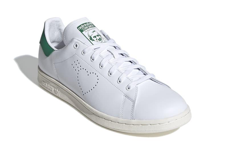 human made adidas originals stan smith FX4259 nigo heart white red release date info photos price
