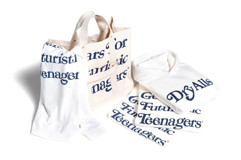 Girls Dont Cry HUMAN MADE 2020 Capsule collection verdy harajuku nigo graphics text typeface slub tees vintage tote bag white clean 50s mid century Japanese designer streetwear