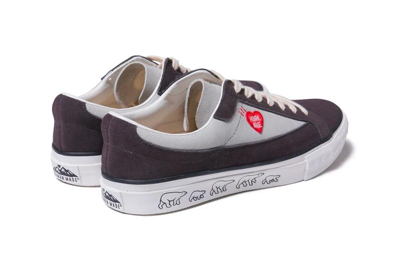 HUMAN MADE Suede Heart Shoe Premium delicate HM19CS055 sneakers footwear trainers runners skate gears for futuristic teenagers pharrell williams nigo Spring Summer 2020