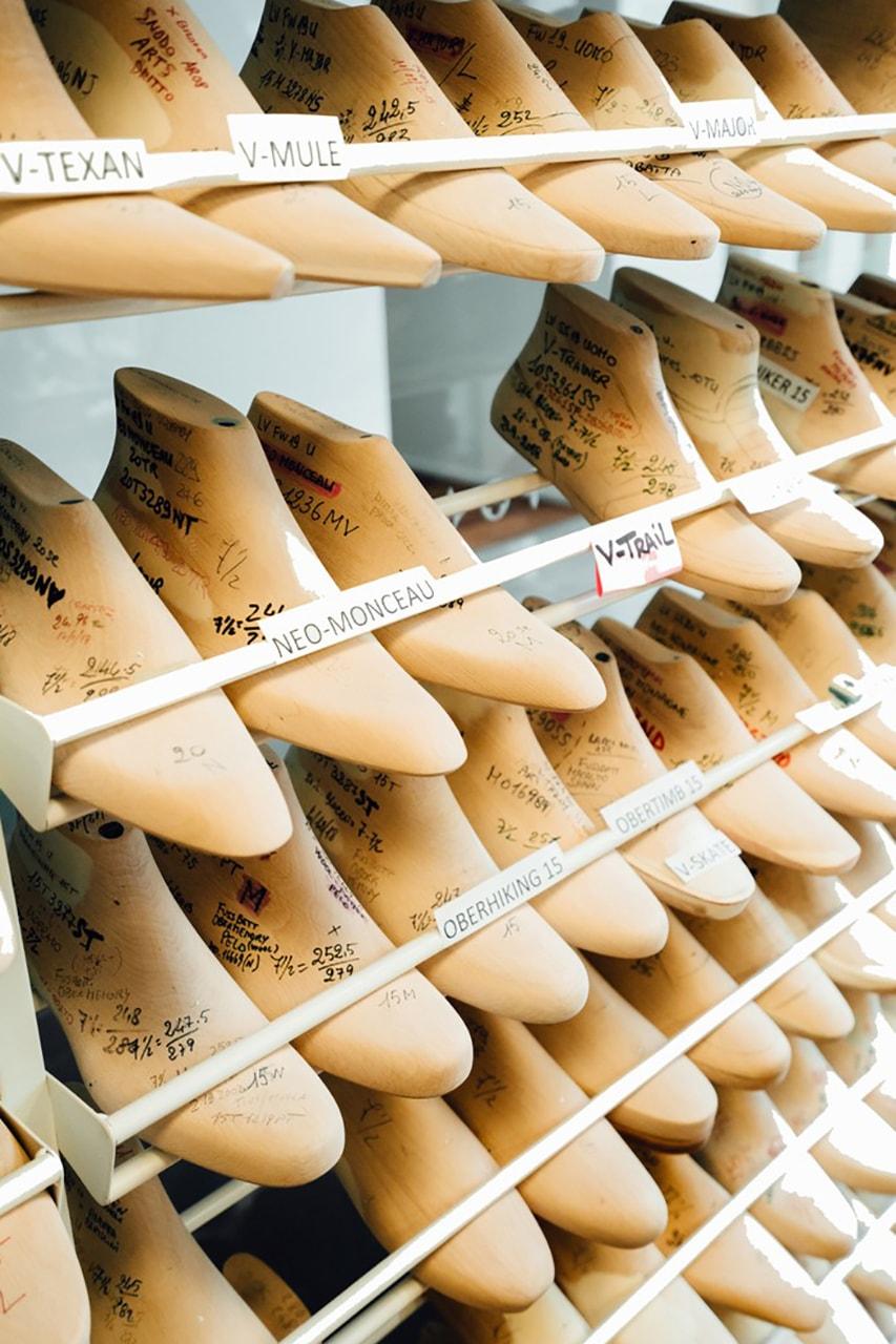 A Look Inside Louis Vuitton Footwear Atelier venice design virgil abloh venice italy studio visit workshop andy warhol
