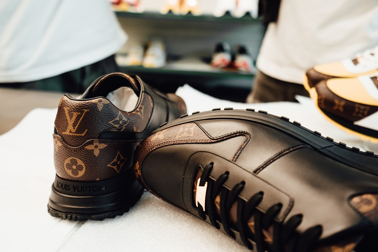 A Look Inside Louis Vuitton Footwear Atelier venice design virgil abloh venice italy studio visit workshop andy warhol