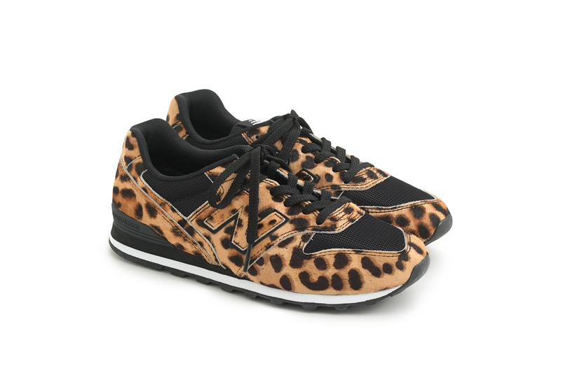 J.Crew x New Balance Comp 100, 996 & 574 Collaboration Gold Salt Leopard Pink Sneakers