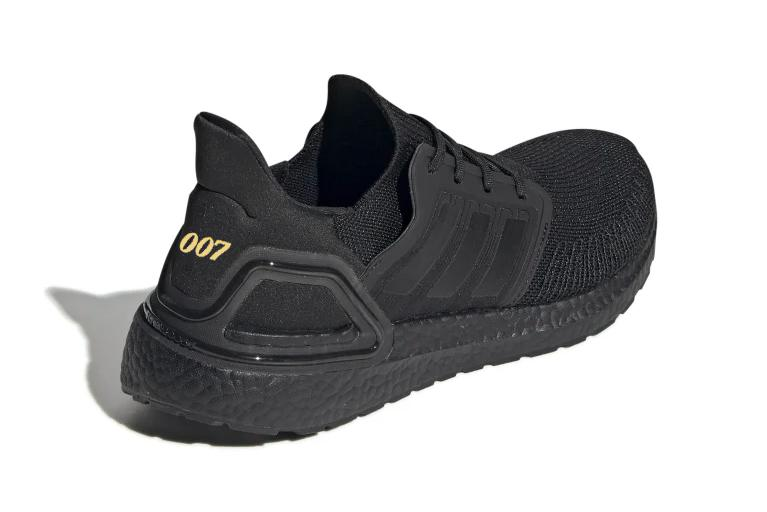 James Bond adidas ultraBOOST 20 Teaser Image Daniel Craig no time to die Black Release Info Date Buy Price Photo Image