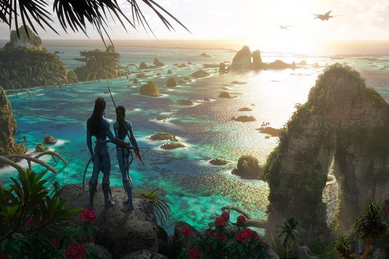 James Cameron Avatar Sequels Concept Art Reveal CES 2020 Release Info Date Premiere Film Movies Pandora Jake Sully Na'Vi