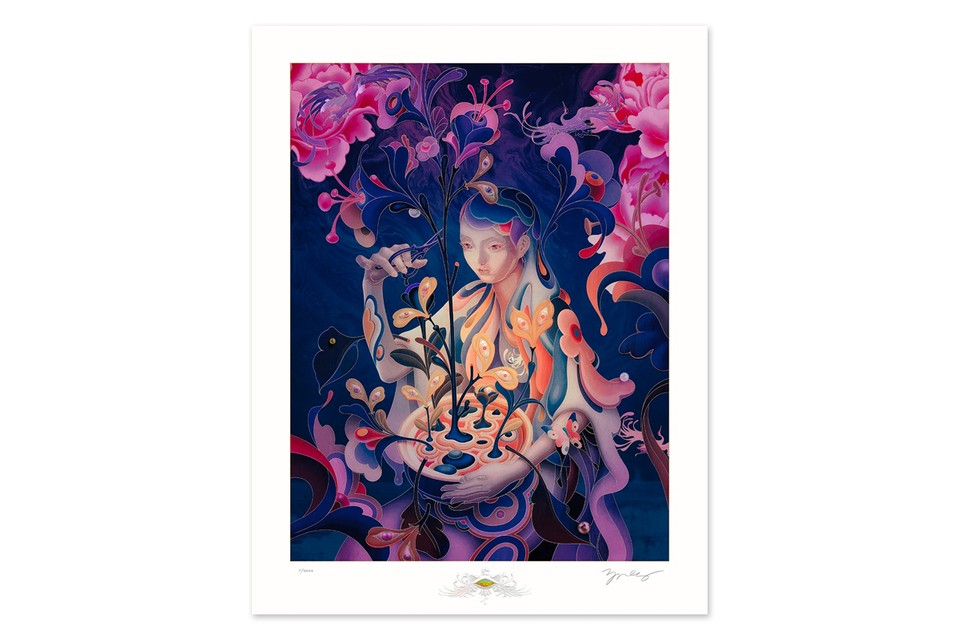 James Jean Focuses on Branches of Imagination in 'The Editor – Night Mode' Limited Print