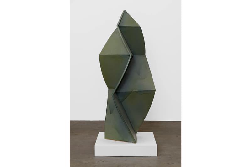 john mason gagosian gallery new york ceramics sculpture artist exhibition geometric force
