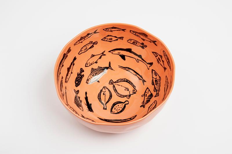 jean jullien case studyo fish skate bowl editions artworks home decor