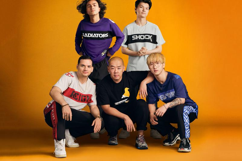 Jeff Staple jeffstaple Overwatch League Esports Kits Players e sports jerseys hats compression sleeves beanies jackets interview lookbook collection