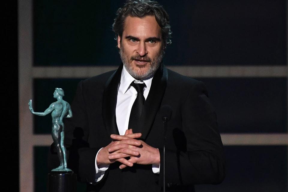 Joaquin Phoenix Honors Heath Ledger in SAG Awards Acceptance Speech