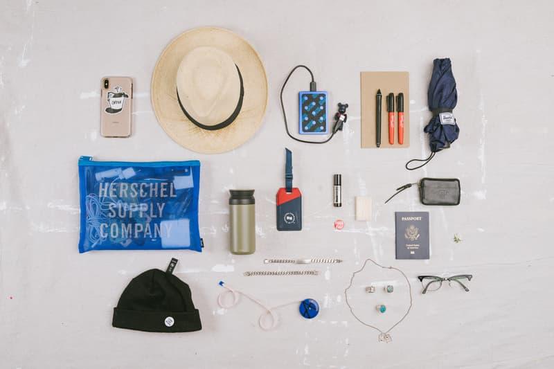 Essentials Jon Warren Herschel Supply Co lyndon cormack vancouver supreme travel bags bearbricks medicom toy aesop goros kinto ray ban wacom muji novelties travel goods