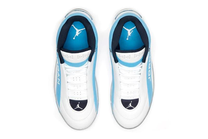 Jordan Team Showcase True White Legend Blue Cd4150 104 footwear shoes sneakers kicks runners trainers kicks spring summer 2020 jordan brand michael jordan basketball Nike