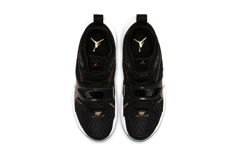 jordan why not zer0 3 the family black metallic gold white Cd3003 001 release date info photos price
