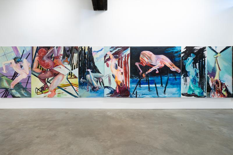Juanita McNeely Exhibition James Fuentes Gallery 'Is It Real? Yes, It Is!' 'Triskaidekaptych'