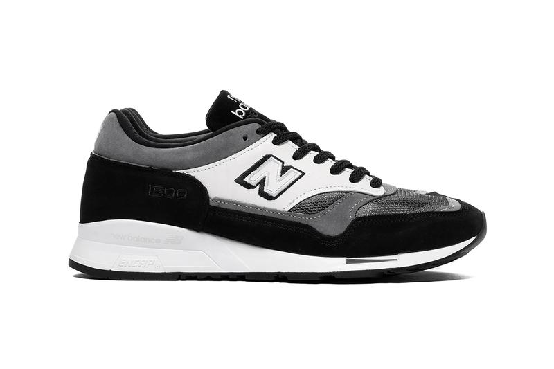 junya watanabe man new balance m1500 haven black white grey suede leather mesh buy cop purchase pre order release information first look collaboration