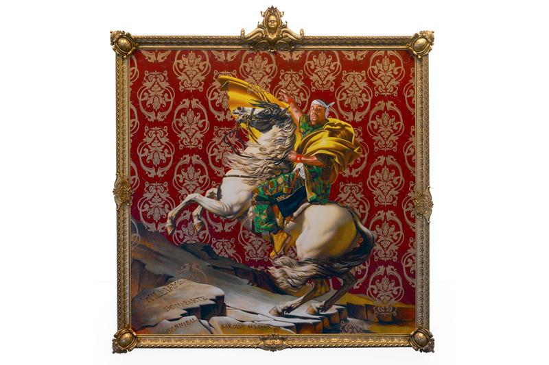 Jacques-Louis David Meets Kehinde Wiley at brooklyn museum exhibition