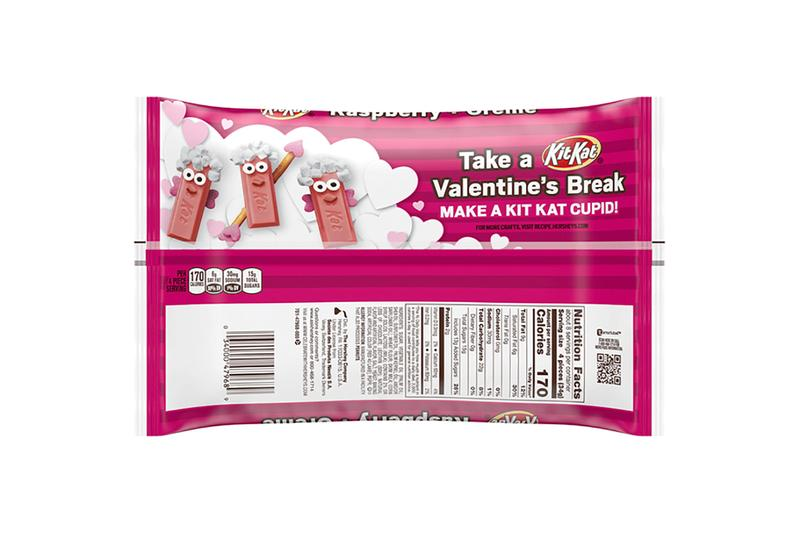 Kit Kat Introduces Raspberry Crème Flavor US drops valentine's day romantic pink candy japan Japanese new flavor leaked