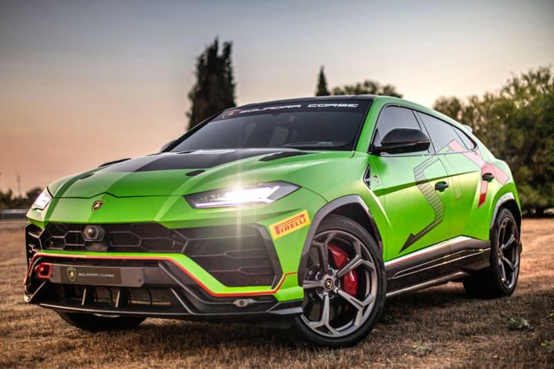 lamborghini urus suv supercar hybrid powertrain electric vehicle ces 2020 Maurizio Reggiani