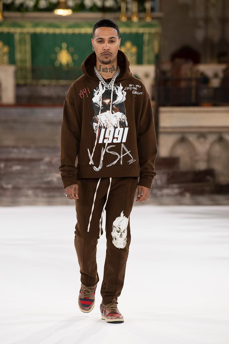 LAUNDERED WORKS CORP. FW20 Collection Paris Fashion Week fall/winter 2020 offset migos runway collection