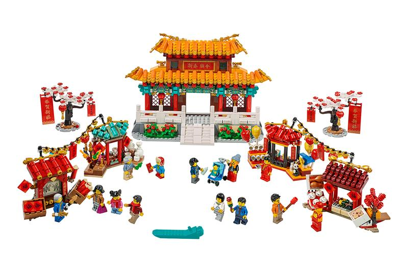 LEGO Lunar New Year Collection Release Information First Look Chinese NY Characters Buildings Tradition Design Lion Dance Temple Fair Spring Festival Year of the Rat