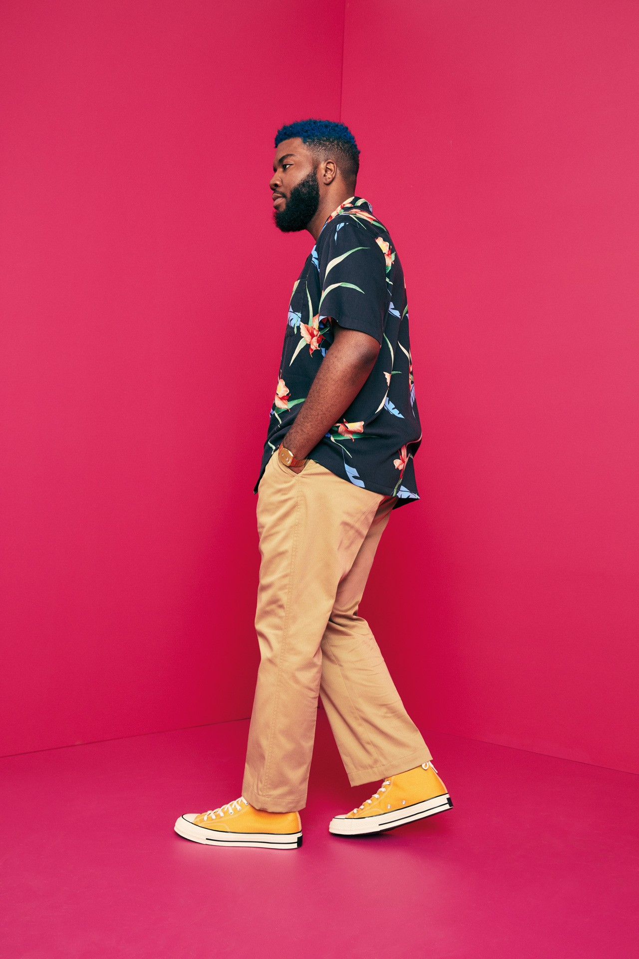 Levi's XX Chino Levi's Haus Miami With Khalid Standard Taper Slim Taper and Straight Cropped pink and jade classic black olive green and navy casual look garment dyed