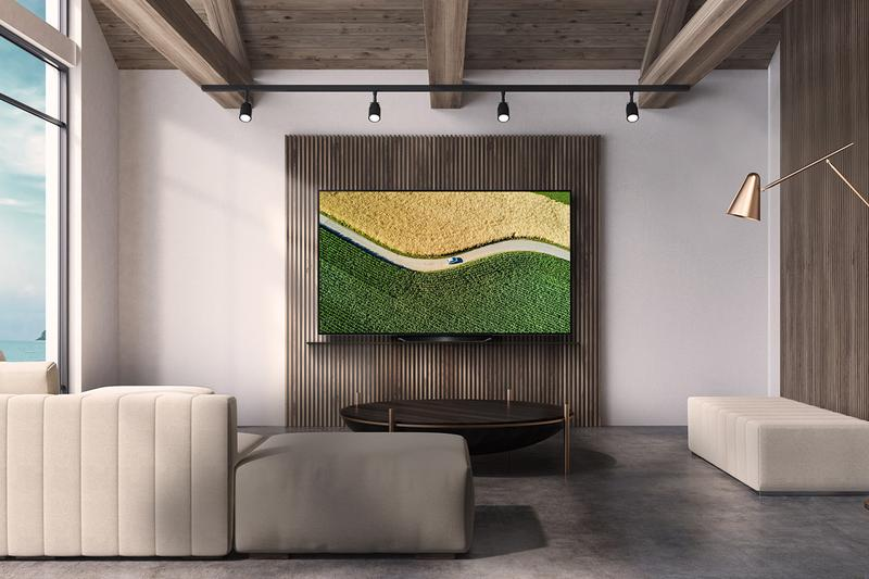 LG OLED TVs Arrive In Time For Big Game sports viewing gaming movies NVIDIA G-SYNC® compatibility support Apple AirPlay 2 Apple HomeKit Amazon Alexa The Google Assistant video streaming and audio connectivity 8 million-plus pixels perfect dark levels no light bleed