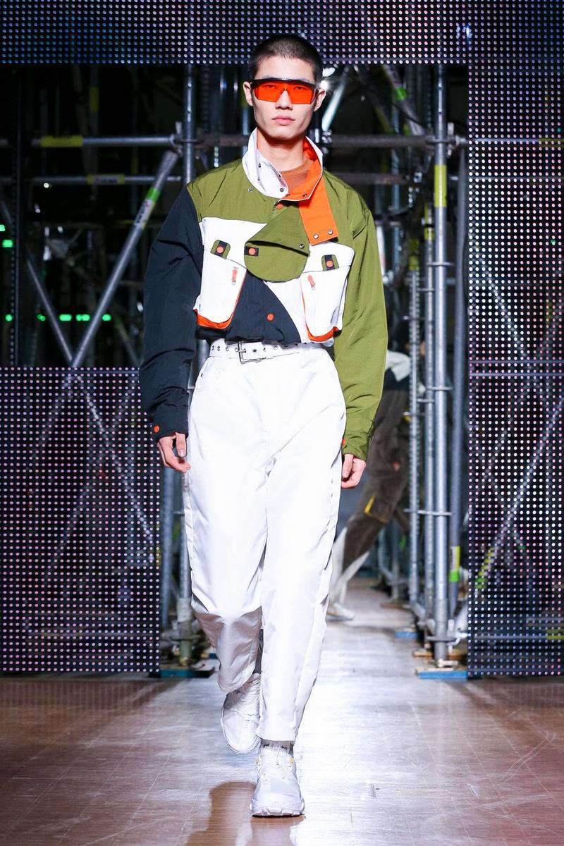 li ning menswear collection jackie chan dwyane wade paris fashion week
