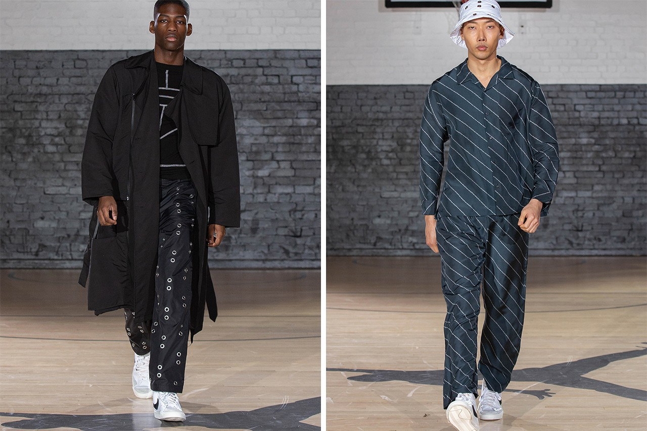 london fashion week mens fall winter 2020 best shows collections bethany williams eastwood danso robyn lynch bianca saunders studio alch alexandra hackett converse adidas superstar pro leather helen kirkum