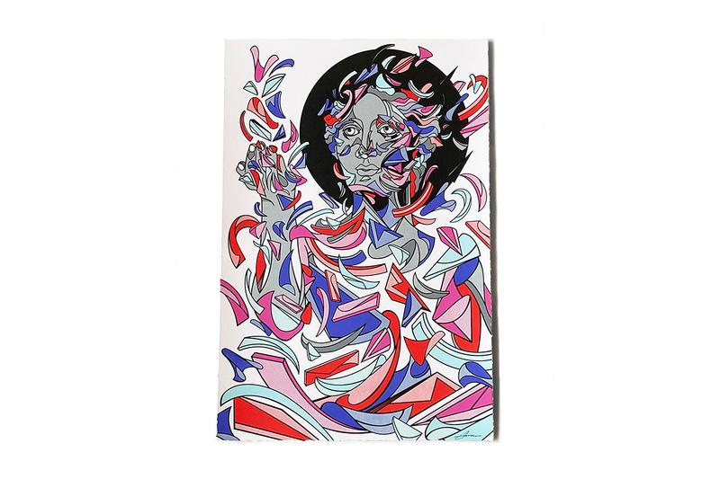 Louis De Guzman Elevated Print Release geometric abstraction cotton archival paper in between the lines exhibition Filipino-American chicago visual artist graphic vibrant bold