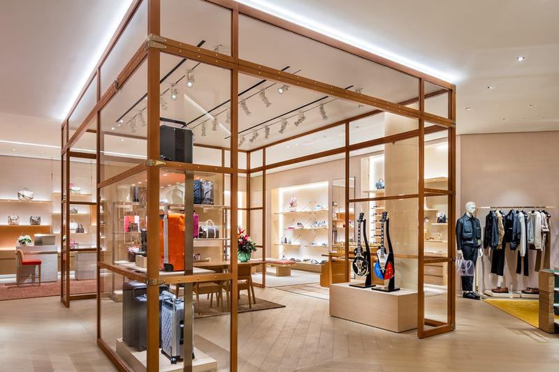 gibson louis vuitton nashville guitars store opening reopening collaboration release music trunk live performance space