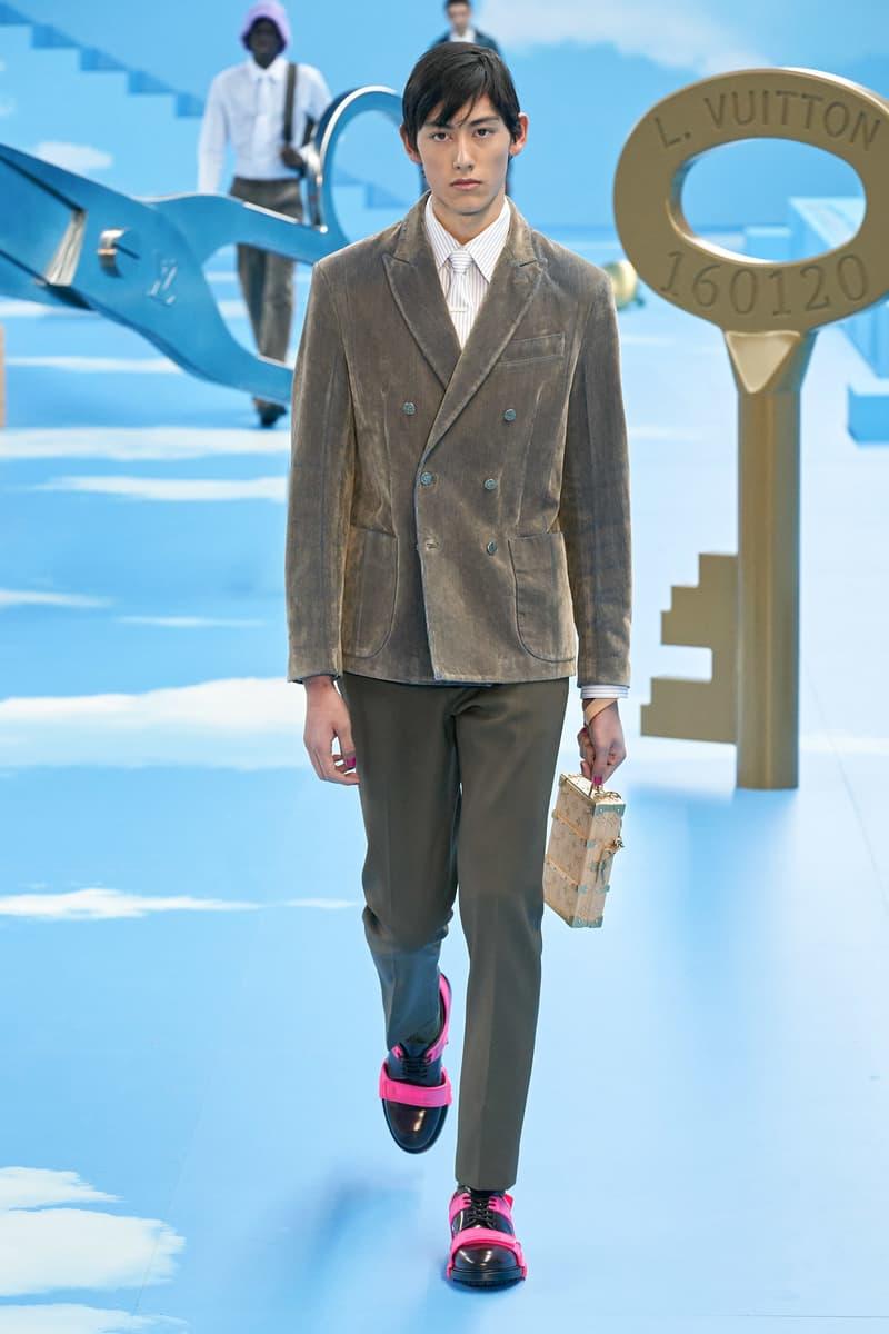 Louis Vuitton fw20 Paris Fashion Week Runway Show mens fall winter 2020 virgil abloh