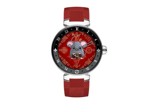 """LV Launches """"Chinese New Year"""" Dials for the Tambour Horizon Monogram Eclipse"""