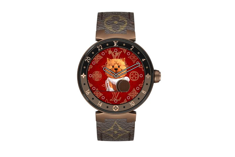 Louis Vuitton Tambour Horizon Monogram Eclipse Chinese New Year Dials Release Info 2020 Chinese zodiac rat ox tiger rabbit dragon snake horse goat monkey rooster dog pig Connected watch smartwatch