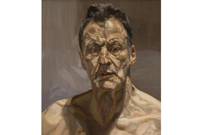 lucian freud the self portraits mfa boston exhibition artworks paintings modern art portraiture contemporary
