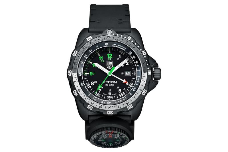 luminox recon nav spc 8830 series watches outdoors wilderness exploration accessories tool watch
