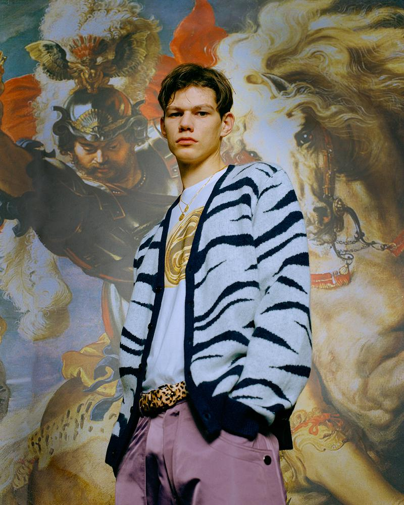 LUSIVE Spring 2020 Lookbook collections animal prints leopard zebra editorial taiwan taipei Xiang Ping xiao snakeskin polyester fiber suits leather suit jackets nylon pant tailoring