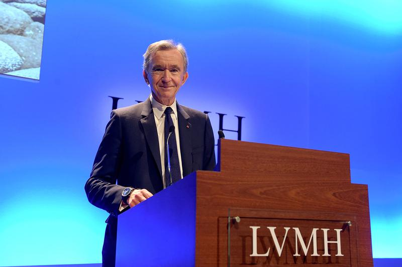 lvmh louis vuitton christine dior leather goods fashion financial results report fiscal 2019 quarter bernard arnault