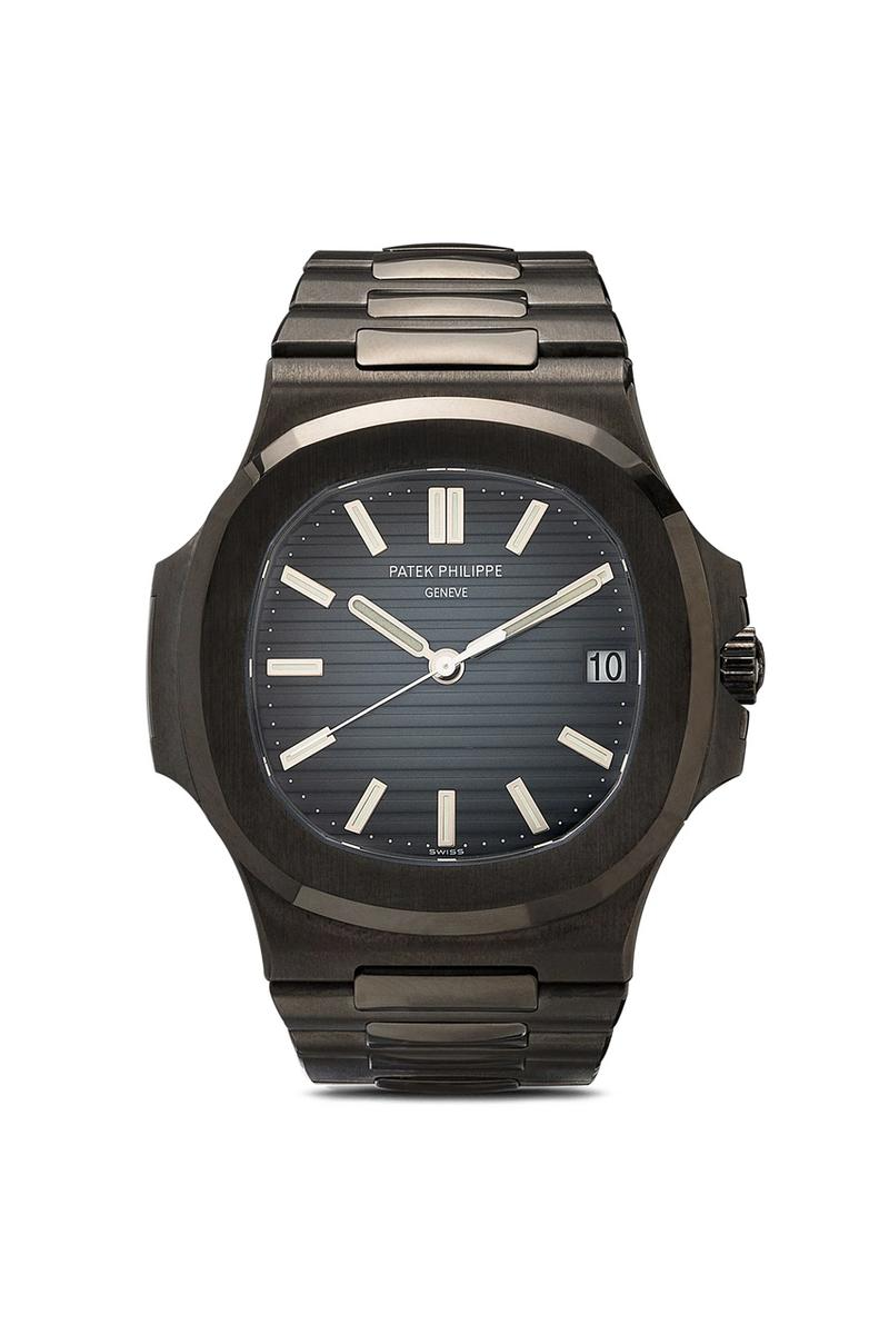 MAD Paris Patek Philippe Nautilus 5980 DLC 5990 Ghost 5711 DLC Browns Menswear Fashion New Releases Watches Timepieces Collectors Items Rare Limited Edition Custom Wristwatch Black Out