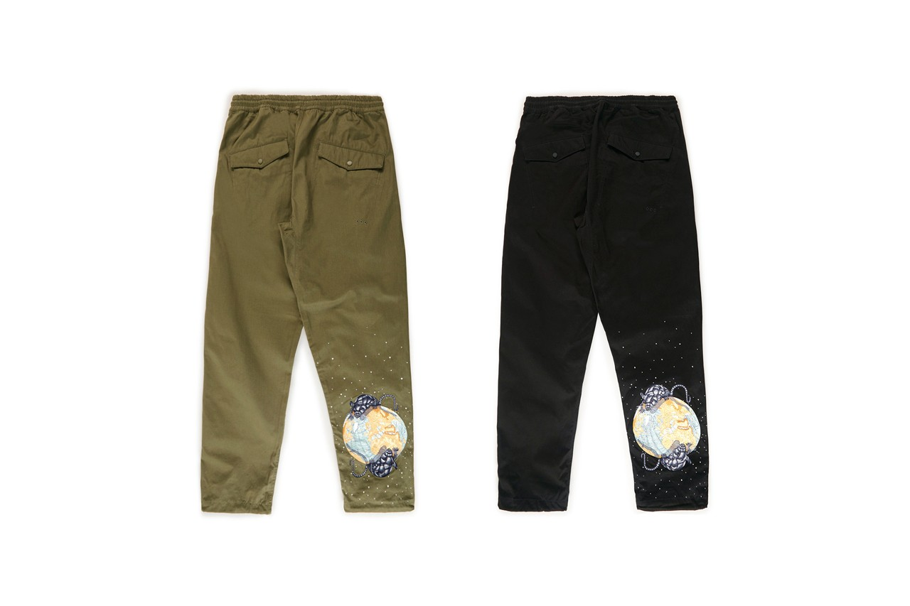 maharishi Spring/Summer 2020 Lunar Year of the Rat Capsule Collection Stadium Jackets Track Pants T-shirts Chinese New Year Bandanas Embroidery