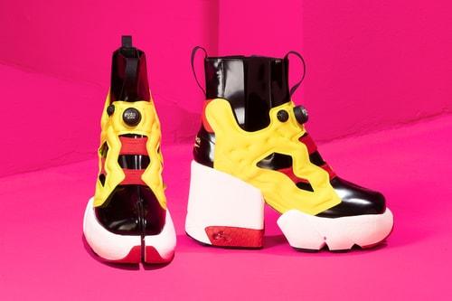 Maison Margiela and Reebok Fuse the Tabi Boot and Instapump Fury Sneaker
