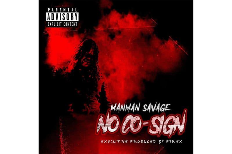 Atlanta Rapper ManMan Savage No Cosign Album Mixtape Stream Trap HipHop Rap