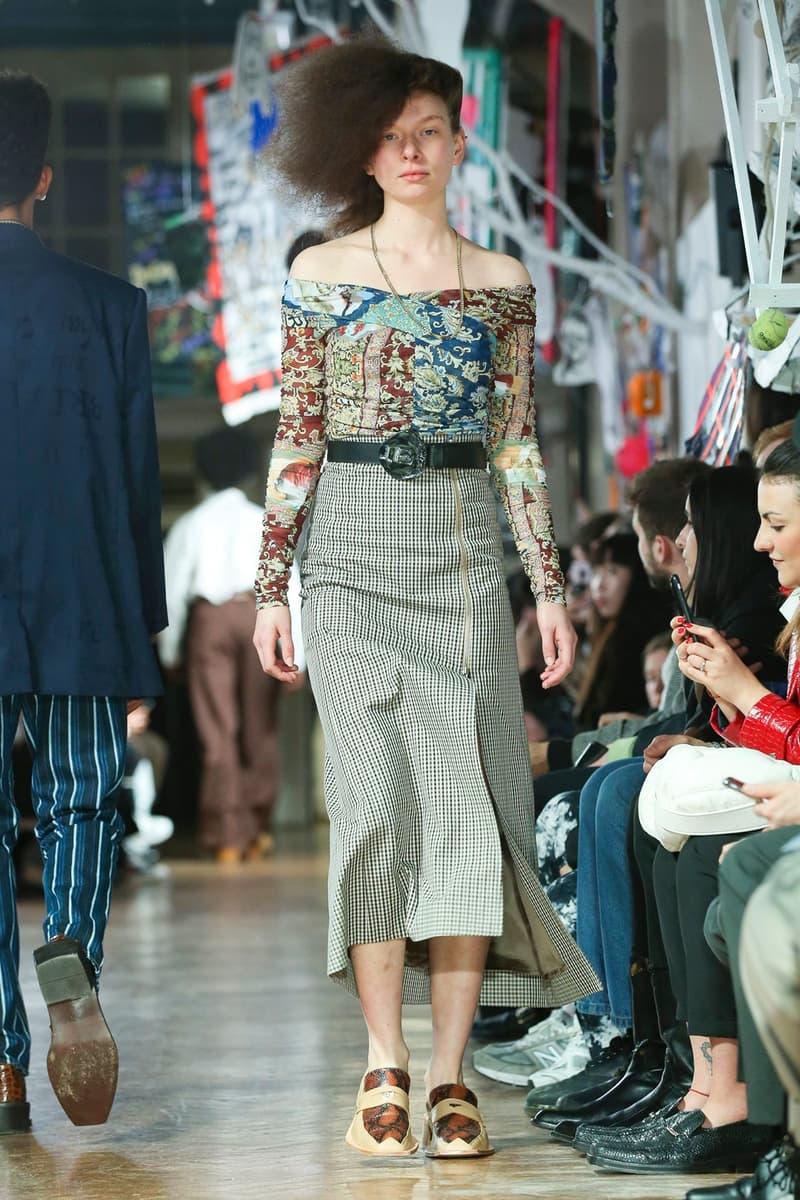 martine rose london fall winter 2020 lfwm london fashion week mens fw20 collection farah collaboration six
