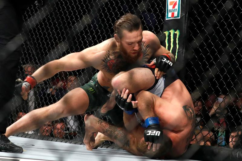 conor mcgregor donald cowboy cerrone ufc 246 mma notorious fight tko knock out 40 seconds