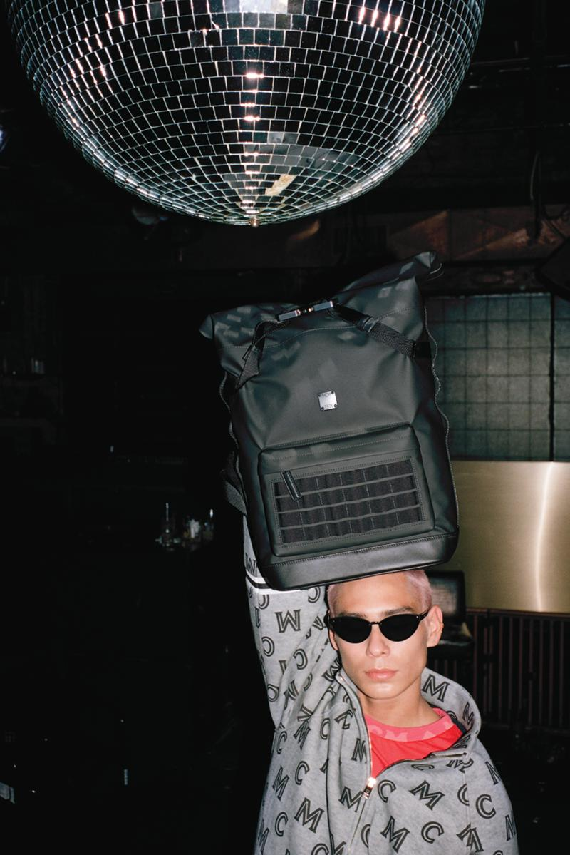 mcm spring summer 2020 campaign evan mock imran potato Joo Won Dae Daisy Maybe Tayahna Walcott From Munich Disco to Berlin Techno collection ss20 lukas wassman leather clothing menswear womenswear accessories bags